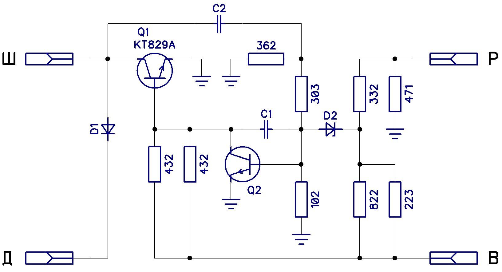 Схема работы регулятора напряжения фото 533